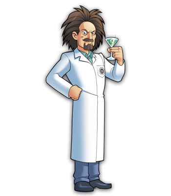Mad Scientists' Guild Member, Dr. Alkenstein.