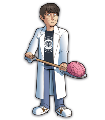 Mad Scientists' Guild Member, Dr. Dinkinstein.
