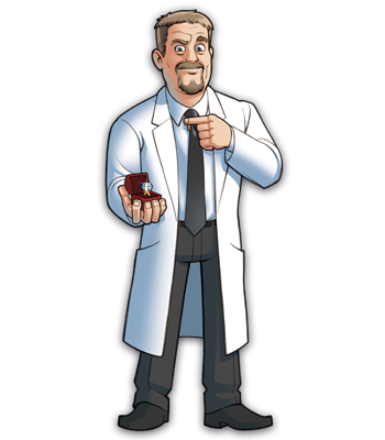 Mad Scientists' Guild Member, Dr. Prederstein.