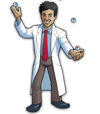 Mad Scientists' Guild Member, Dr. Erkenstein.