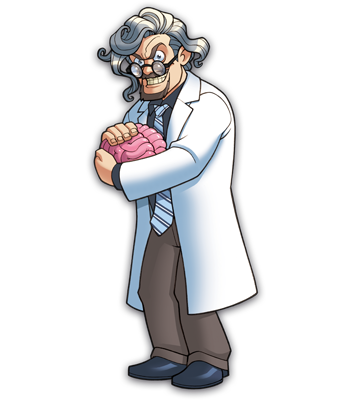 Mad Scientists' Guild Member, Dr. Markenstein.