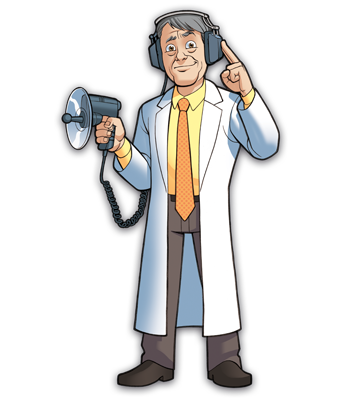 Mad Scientists' Guild Member, Dr. Renatostein.