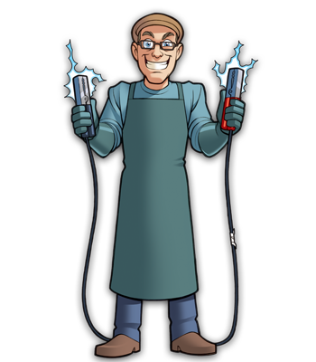Mad Scientists' Guild Member, Dr. Tilton.
