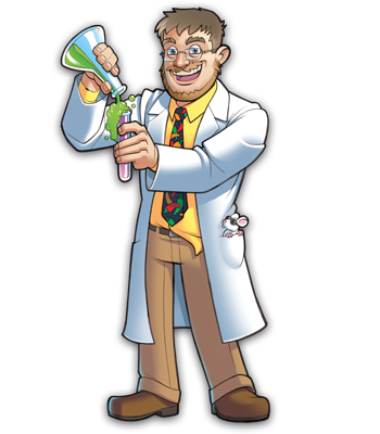 Mad Scientists' Guild Member, Dr. Tomkenstein.