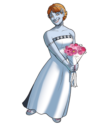 Mad Scientists' Guild Member, The Forever Bride.